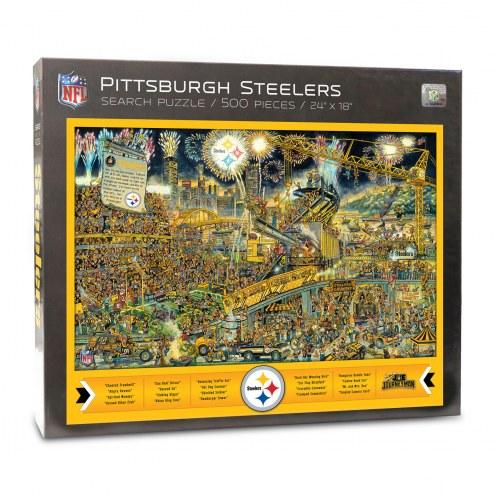 Pittsburgh Steelers Joe Journeyman Puzzle