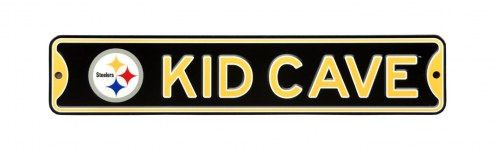 Pittsburgh Steelers Kid Cave Street Sign