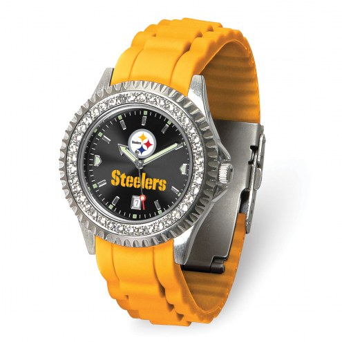 Pittsburgh Steelers Sparkle Women's Watch