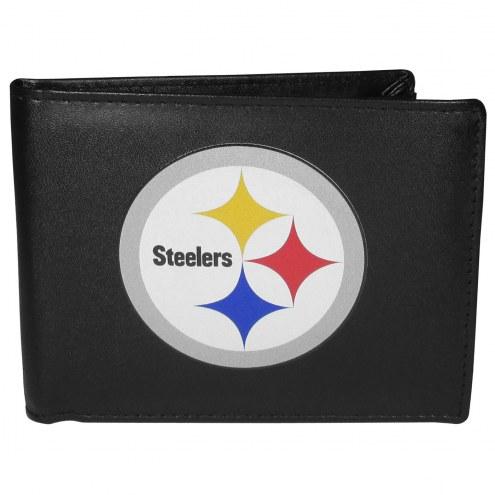 Pittsburgh Steelers Large Logo Bi-fold Wallet