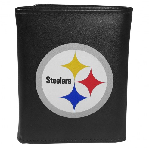 Pittsburgh Steelers Large Logo Tri-fold Wallet