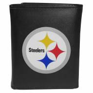 Pittsburgh Steelers Large Logo Tri-fold Wallet