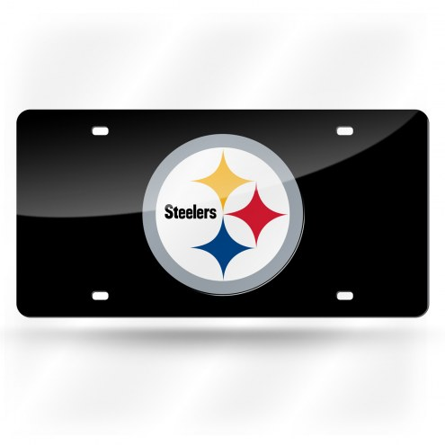 Pittsburgh Steelers Laser Cut License Plate