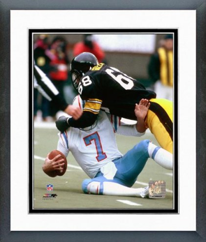 Pittsburgh Steelers L.C. Greenwood Action Framed Photo