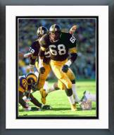 Pittsburgh Steelers L.C. Greenwood Super Bowl XIV 1980 Action Framed Photo