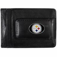 Pittsburgh Steelers Leather Cash & Cardholder