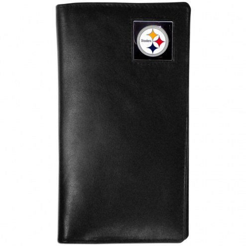 Pittsburgh Steelers Leather Tall Wallet