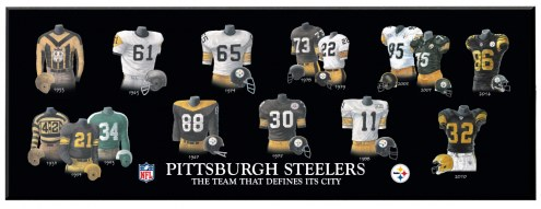 Pittsburgh Steelers Legacy Uniform Plaque