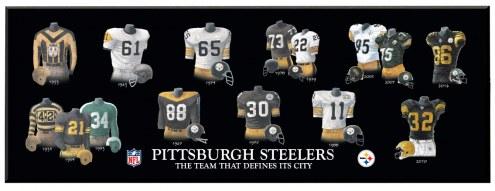 Pittsburgh Steelers Legacy Uniform Plaque
