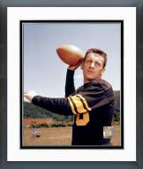 Pittsburgh Steelers Len Dawson Posed Framed Photo