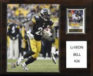"Pittsburgh Steelers Le'Veon Bell 12"" x 15"" Player Plaque"