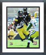 Pittsburgh Steelers Le'Veon Bell Action Framed Photo