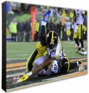 Pittsburgh Steelers Le'Veon Bell & Juju Smith-Schuster Action Photo
