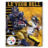 Pittsburgh Steelers Le'Veon Bell Silk Touch Blanket