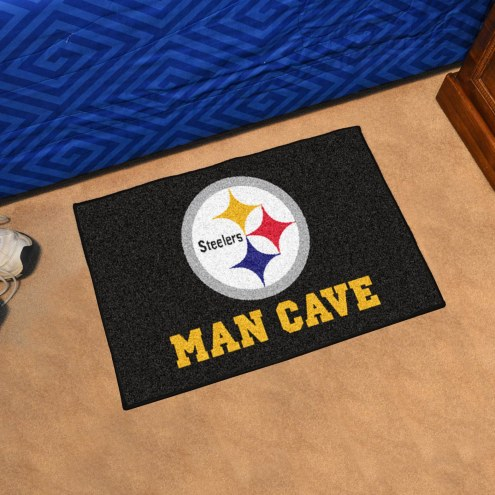 Pittsburgh Steelers Man Cave Starter Mat