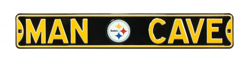 Pittsburgh Steelers Man Cave Street Sign