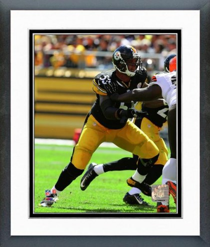 Pittsburgh Steelers Maurkice Pouncey Action Framed Photo