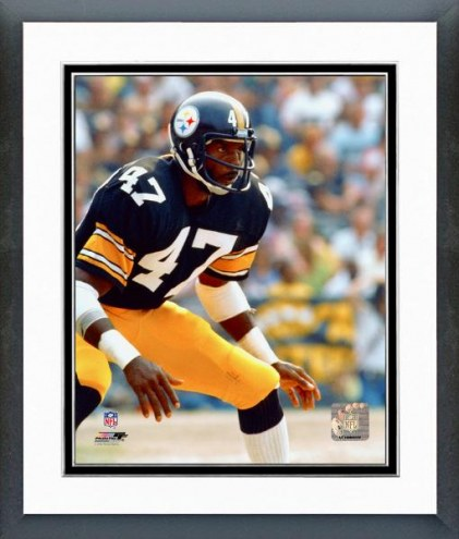 Pittsburgh Steelers Mel Blount - Action Framed Photo