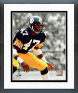 Pittsburgh Steelers Mel Blount Spotlight Action Framed Photo