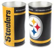 Pittsburgh Steelers Metal Wastebasket