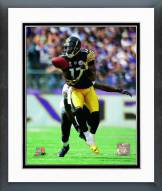 Pittsburgh Steelers Mike Wallace Action Framed Photo