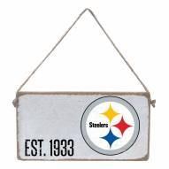 Pittsburgh Steelers Mini Plank