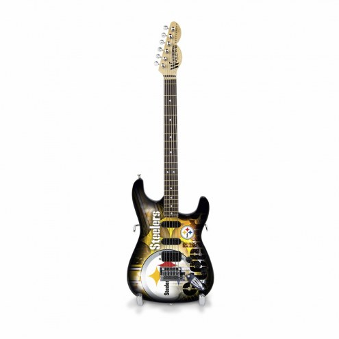 Pittsburgh Steelers Mini Collectible Guitar