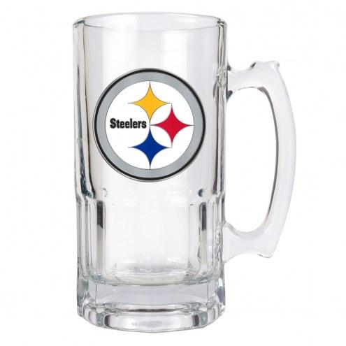 Pittsburgh Steelers NFL 1 Liter Glass Macho Mug