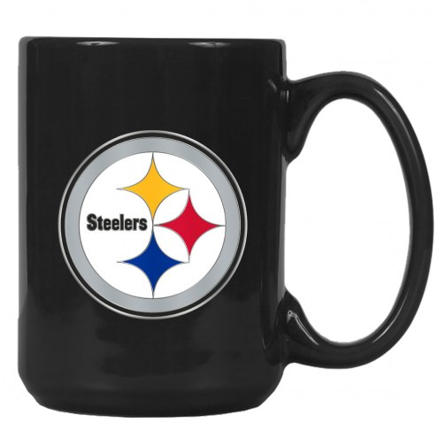 Pittsburgh Steelers NFL 2-Piece Ceramic Coffee Mug Set