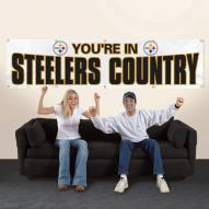 Pittsburgh Steelers NFL 8' Banner