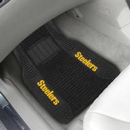 Pittsburgh Steelers NFL Deluxe Car Floor Mat Set
