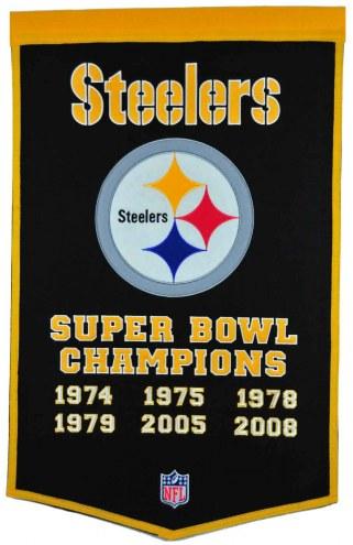 Winning Streak Pittsburgh Steelers NFL Dynasty Banner