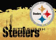 Pittsburgh Steelers NFL Fade Area Rug