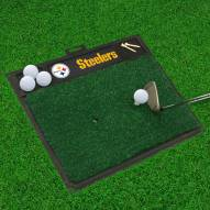 Pittsburgh Steelers NFL Golf Hitting Mat