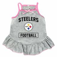 Pittsburgh Steelers NFL Gray Dog Dress