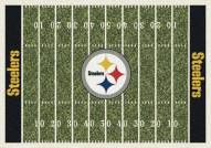 Pittsburgh Steelers NFL Home Field Area Rug