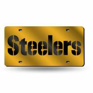 Pittsburgh Steelers NFL Laser Cut License Plate
