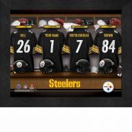 Pittsburgh Steelers NFL Personalized Locker Room 11 x 14 Framed Photograph