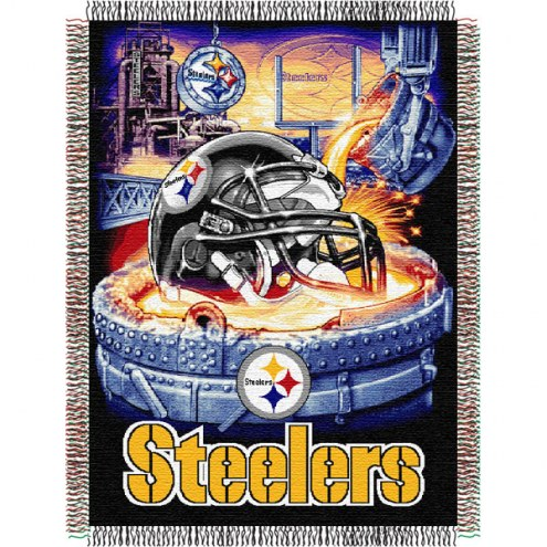 Pittsburgh Steelers NFL Woven Tapestry Throw