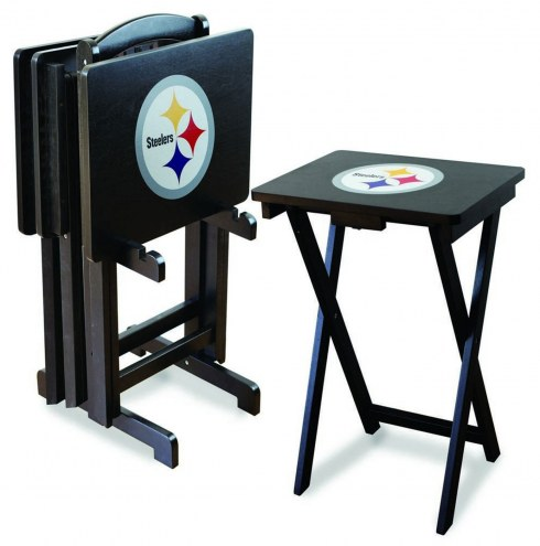 Pittsburgh Steelers NFL TV Trays - Set of 4