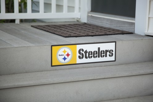 Pittsburgh Steelers Outdoor Step Graphic