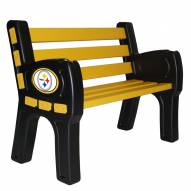 Pittsburgh Steelers Park Bench