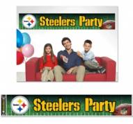 Pittsburgh Steelers Party Banner