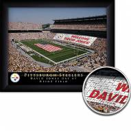 Pittsburgh Steelers 11 x 14 Personalized Framed Stadium Print