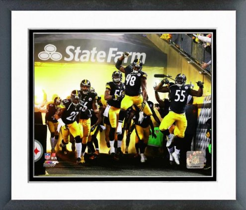 Pittsburgh Steelers Pittsburgh Steelers Team Introduction Framed Photo