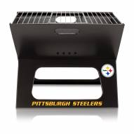Pittsburgh Steelers Portable Charcoal X-Grill