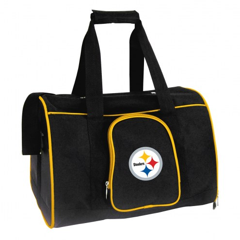 Pittsburgh Steelers Premium Pet Carrier Bag