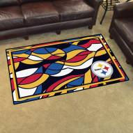 Pittsburgh Steelers Quicksnap 4' x 6' Area Rug