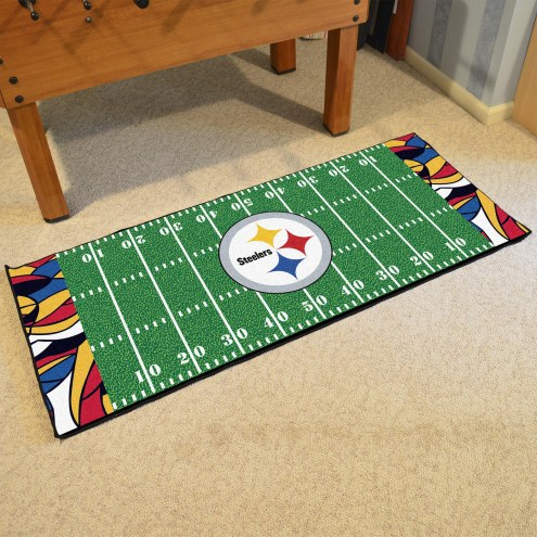 Pittsburgh Steelers Quicksnap Runner Rug