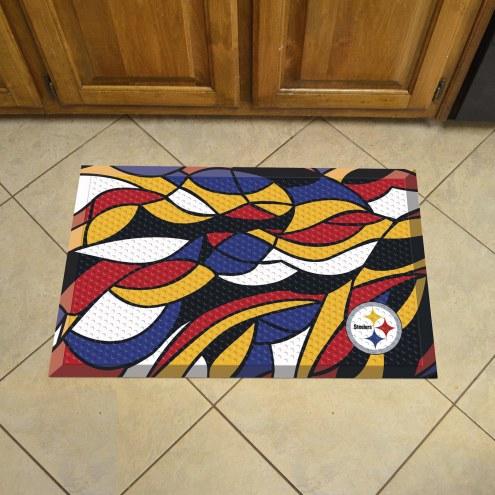 Pittsburgh Steelers Quicksnap Scraper Door Mat